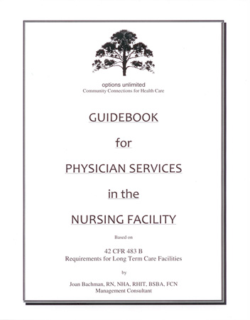 Guidebook for Physician Services in the Nursing Facility